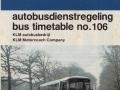 KLM bus dienstregeling 1982-2 -a