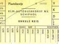 KLM bus plaatsbewijs-2 -a