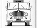 KLM bus tekening 1600-serie -a