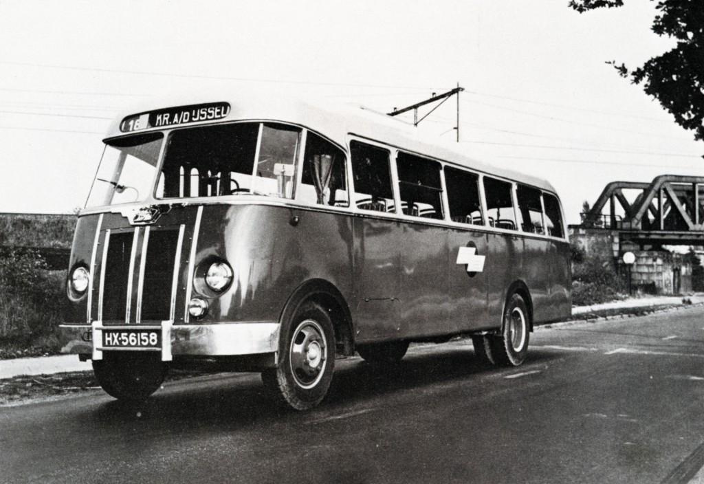 Particuliere busonderneming streekvervoer, Twee Provinciën, DAF, lijn 18, Rotterdam-Krimpen a/d IJssel