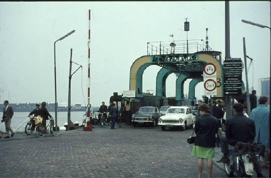 Op 5 juni 1967 viel het doek voor het wagenveer.
