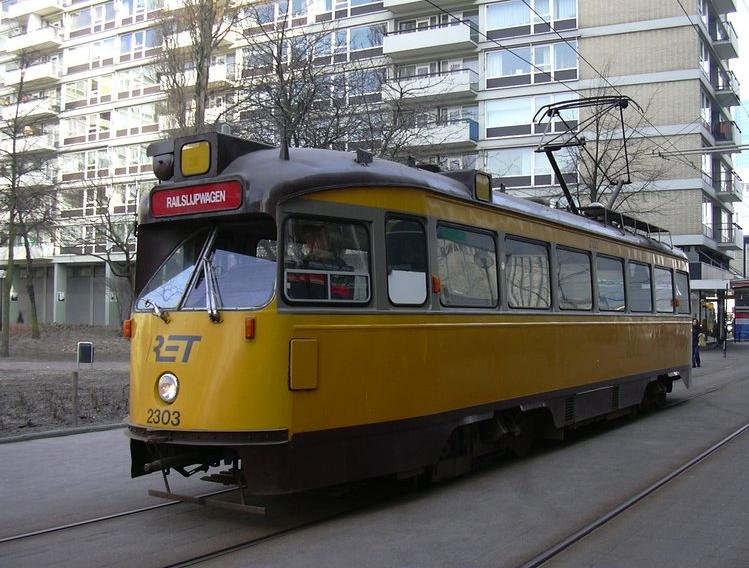Railslijpmotorwagen 2303, Van Oldenbarneveltstraat (ex HTM 1139)