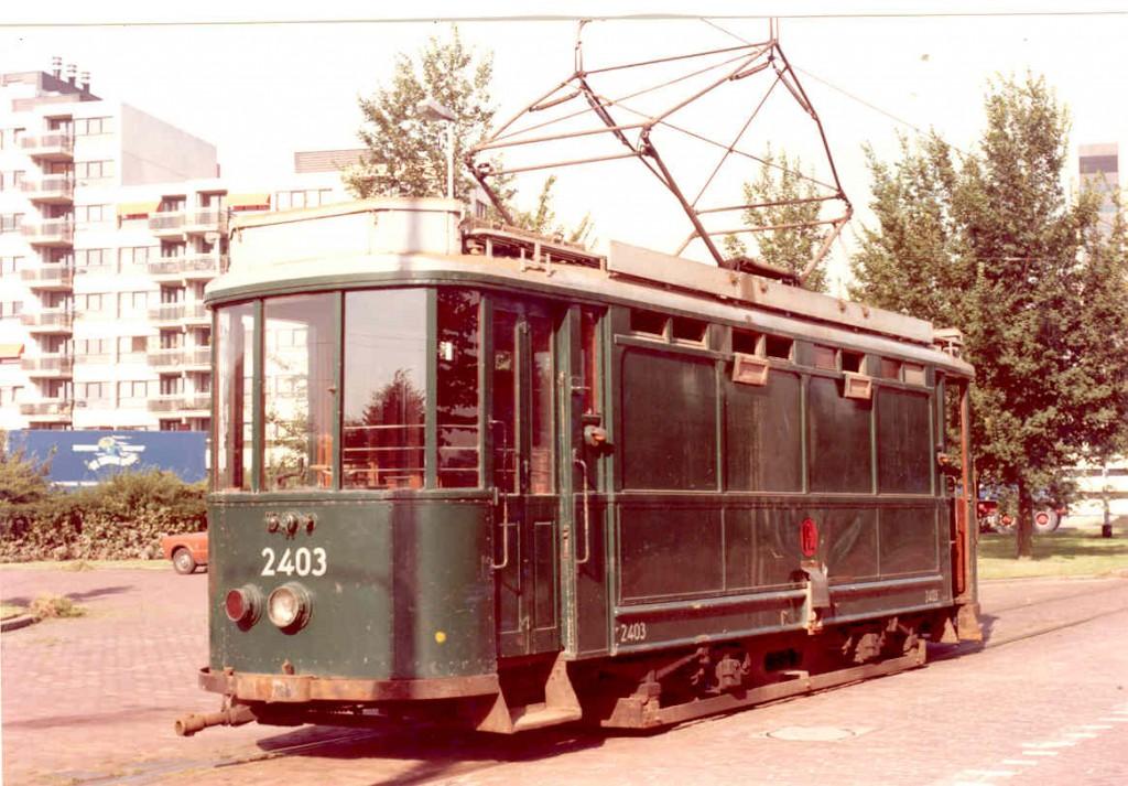 Zandtransport motorrijtuig 2307, Honingerdijk