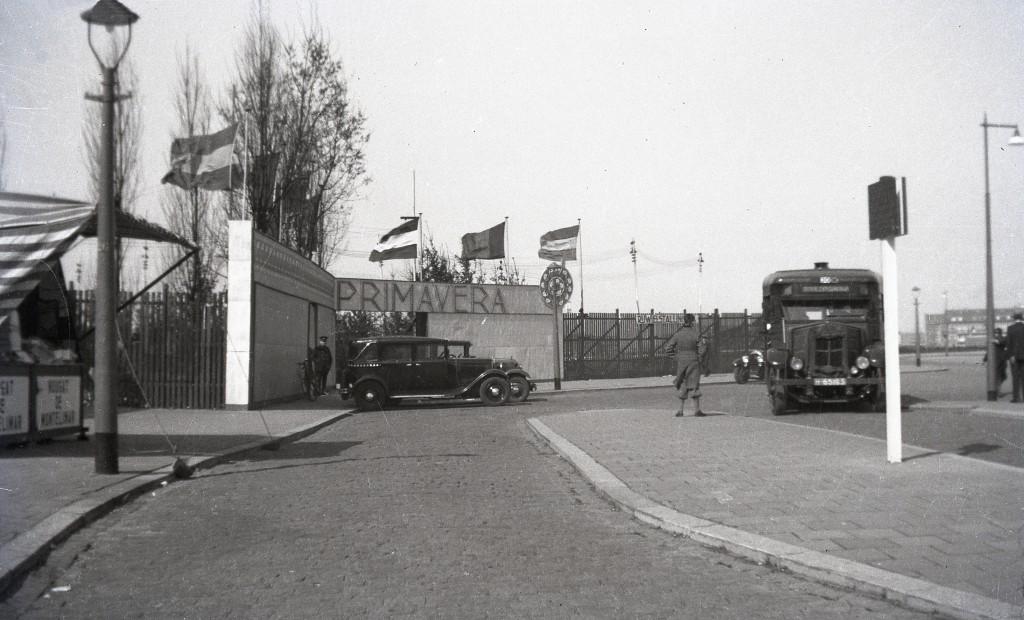 Krupp bus 5, april 1934, Nenijtoterrein.