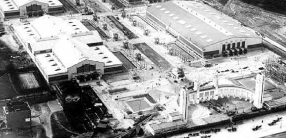 Het Nenijtoterrein in opbouw, 1928