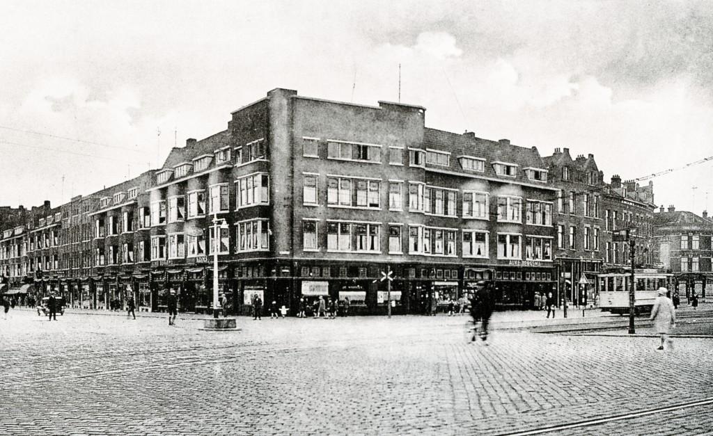 2e Rosestraat hoek Beijerlandselaan (links), 1931
