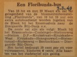 19490309-Floribundabus, Verzameling Hans Kaper