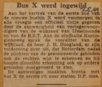 19490502-Bus-X-werd-ingewijd, Verzameling Hans Kaper