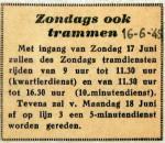 19490616 Zondags ook trammen