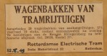 19490812-Wagenbakken-tramrijtuigen-te-koop, Verzameling Hans Kaper