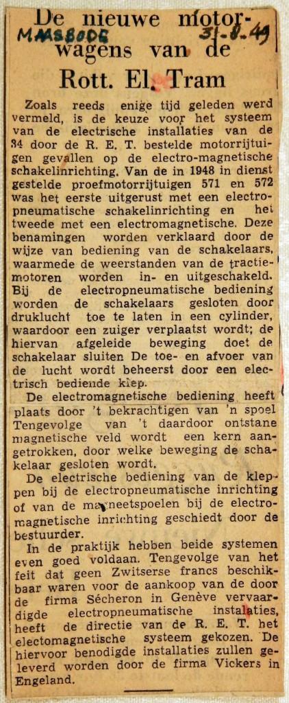 19490831 De nieuwe motorwagens