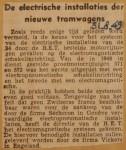 19490831-Elektrische-installaties-nieuwe-tramwagens, Verzameling Hans Kaper