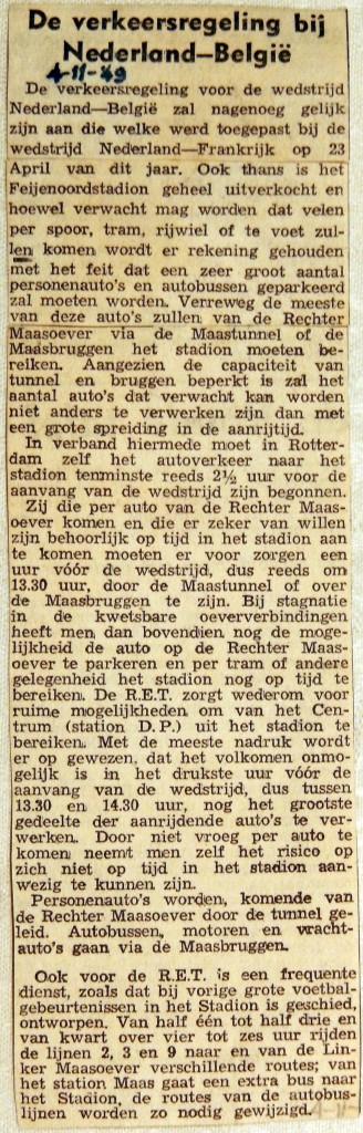 19491104 Verkeersregeling Nederland-Belgie