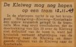 19491112-Kleiweg-mag-nog-hopen-op-een-tram, Verzameling Hans Kaper