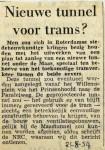 19540821 Nieuwe tunnel voor trams