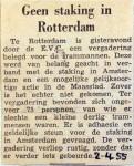 19550204 Geen staking in Rotterdam