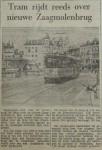 19550717-Tram-over-nieuwe-Zaagmolenbrug, Verzameling Hans Kaper