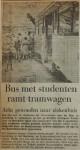 19550718-A-Bus-met-studenten-ramt-tramwagen, Verzameling Hans Kaper