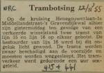 19551122-Trambotsing-Henegouwerlaan-415-441, Verzameling Hans Kaper