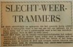 19551125-Slecht-weer-trammers, Verzameling Hans Kaper