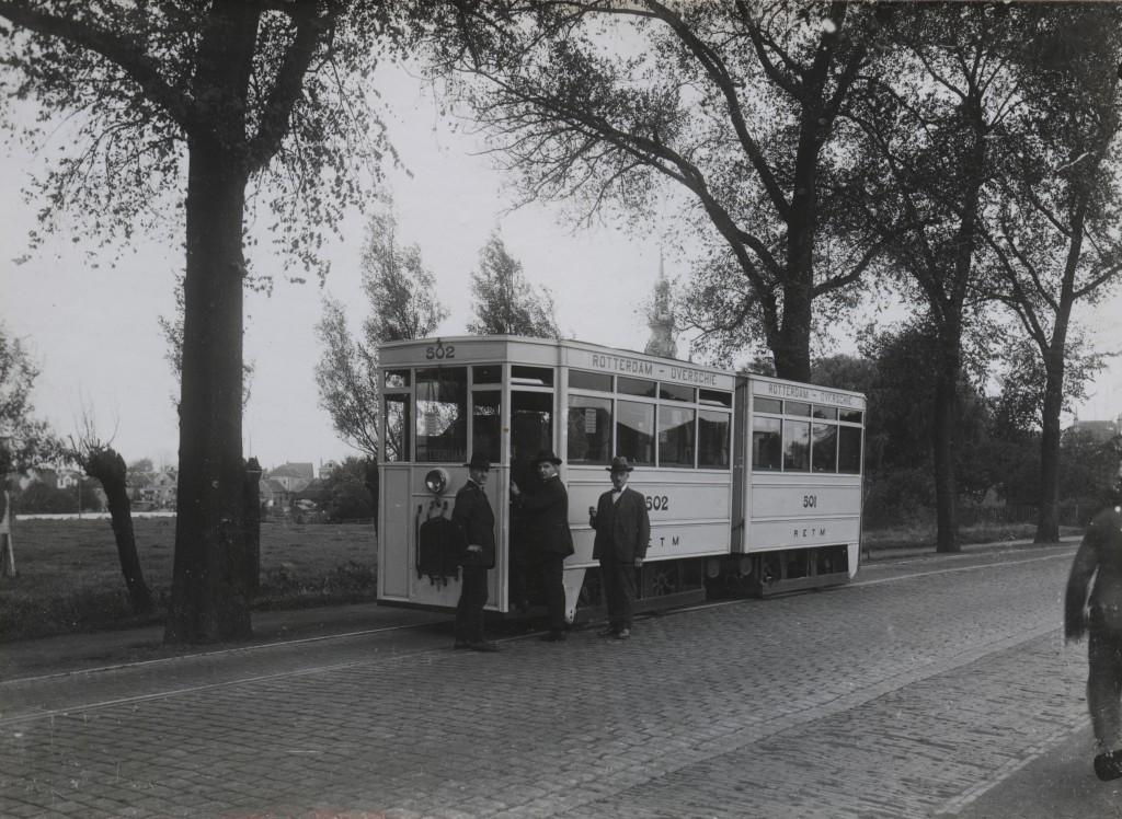 Motortram 502 Rotterdamse Rijweg 1927