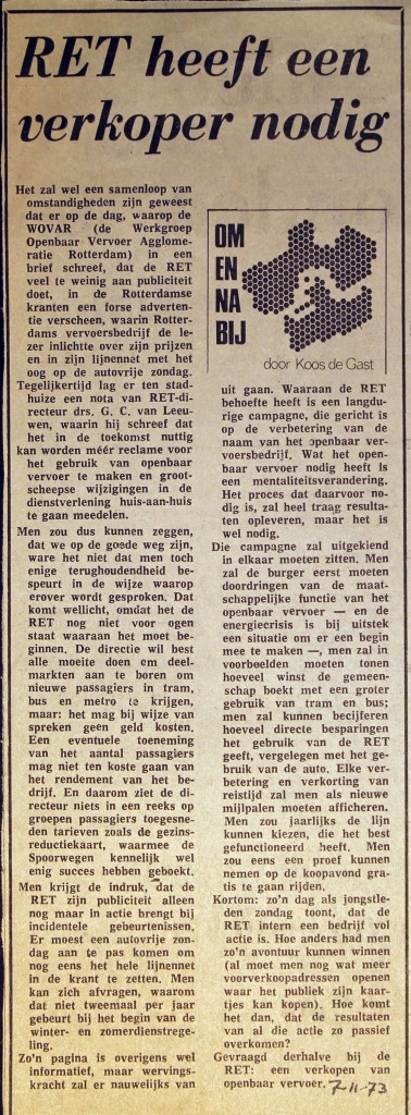 19731107 Verkoper nodig.
