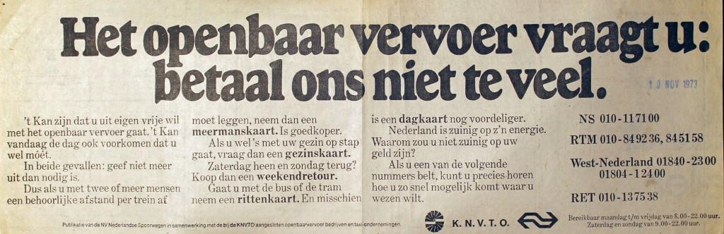 19731113 Advertentie.