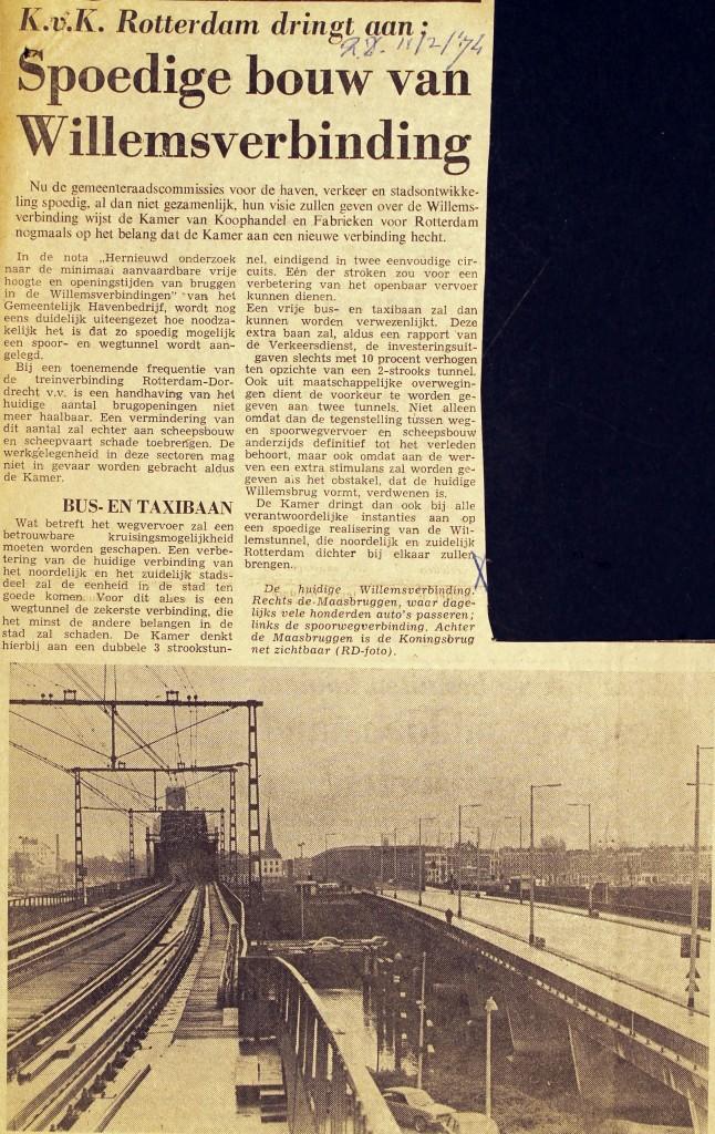 19740211 Spoedige bouw Willemsverbinding (RD)