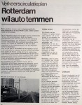 19750101 Verkeerscirculatieplan 1. (Rotterdam)