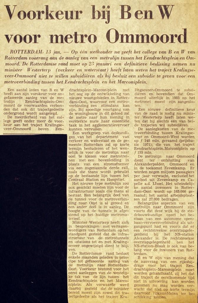 19750113 Voorkeur Ommoord. (NRC)