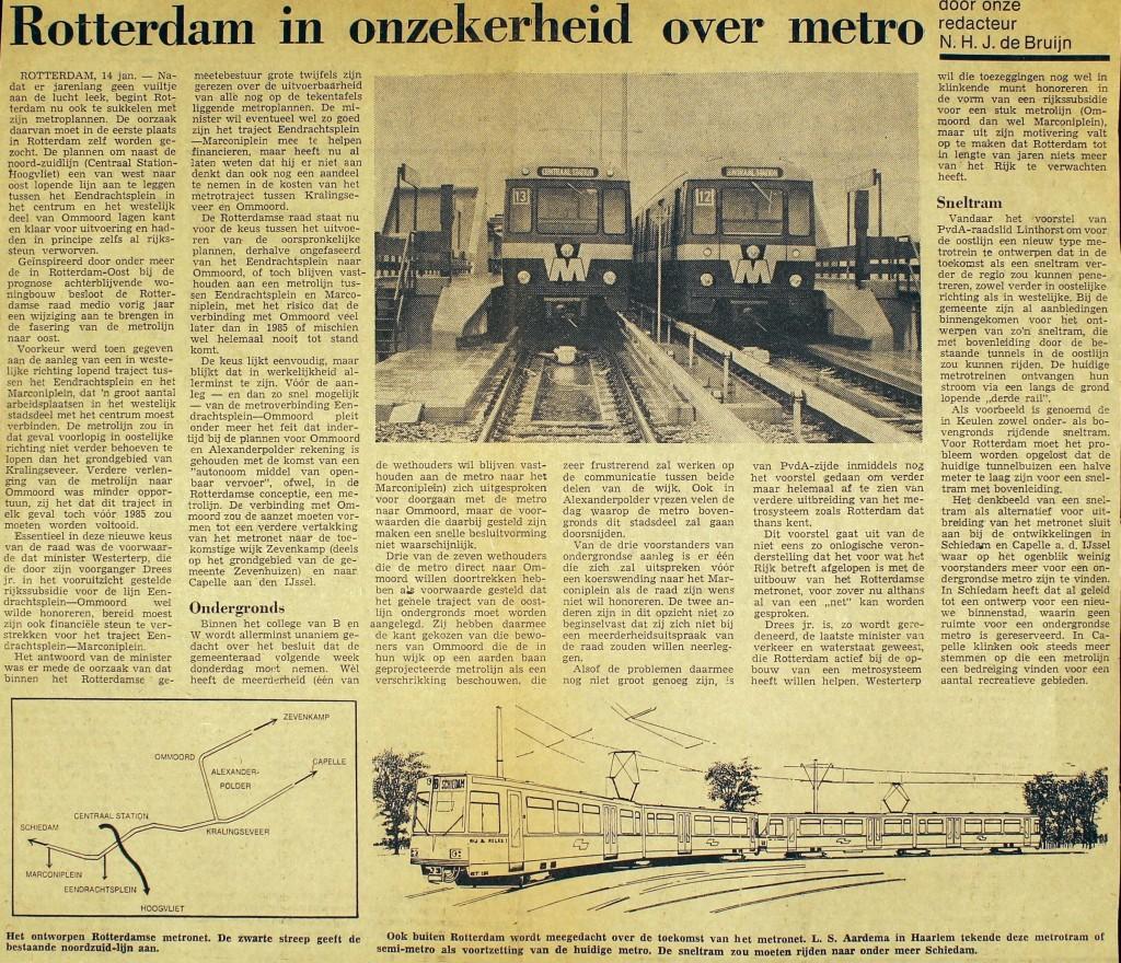19750114 Onzekerheid metro. (NRC)