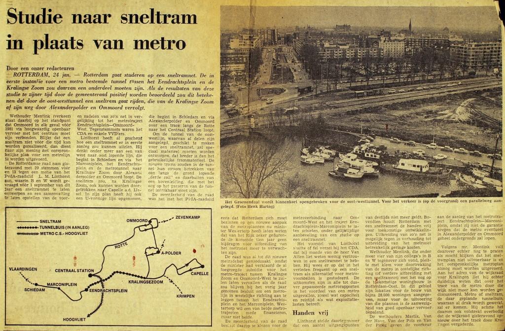 19750124 Studie sneltram 2. (NRC)