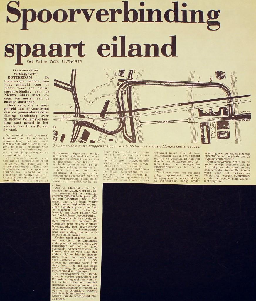 19750514 Spoor spaart eiland. (HVV)