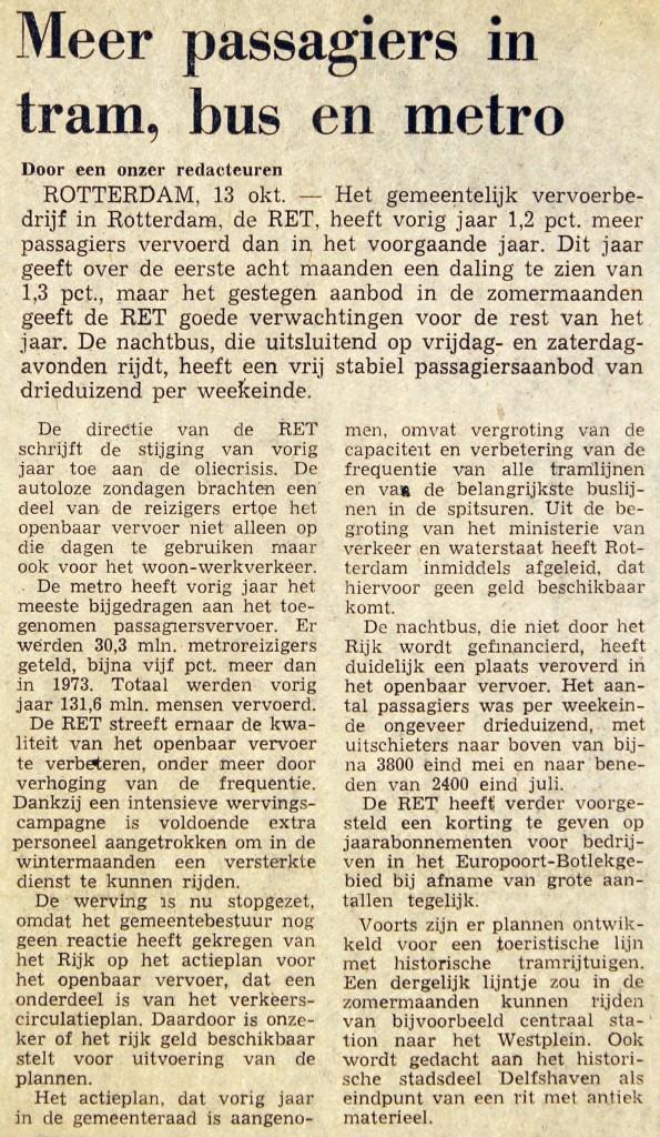 19751013 Meer passagiers. (NRC)